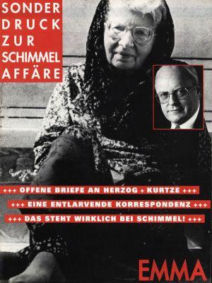 Sonderdruck zur Schimmel-Affäre, 1995