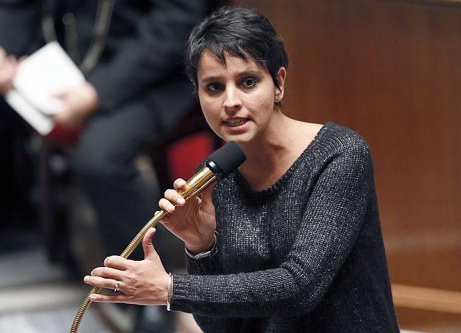 Die französische Frauenministerin Vallaud-Belkacem ringt um Zustimmung. © P. Kovarick/afp/getty
