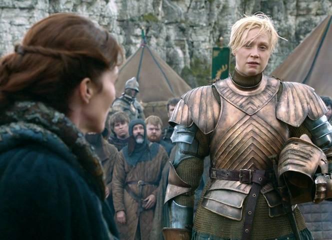 """""""Brienne, die Schöne"""" wird sie spöttisch genannt - bis es zum Kampf kommt."""