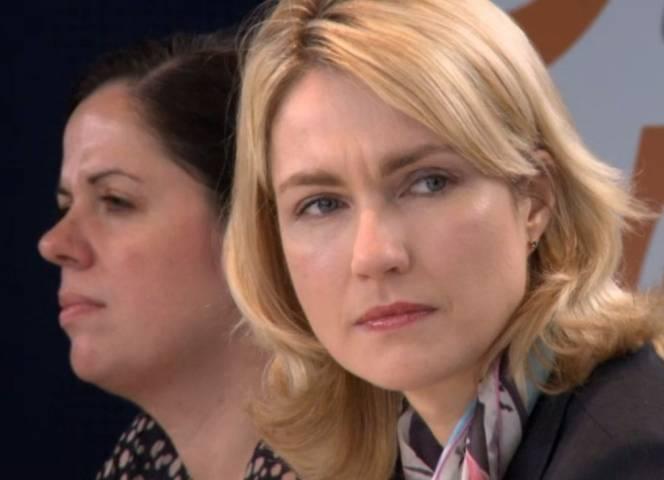 Frauenministerin Manuela Schwesig zog Bilanz.