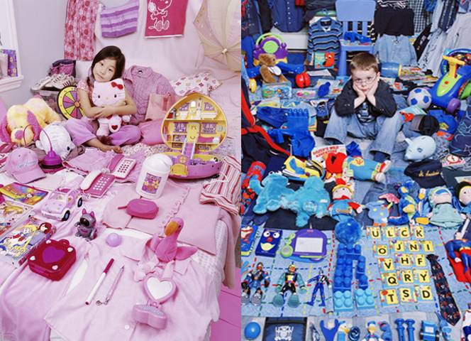 The Pink Project. The Blue Project. Von der koreanischen Fotografin JeonMee Yoon.