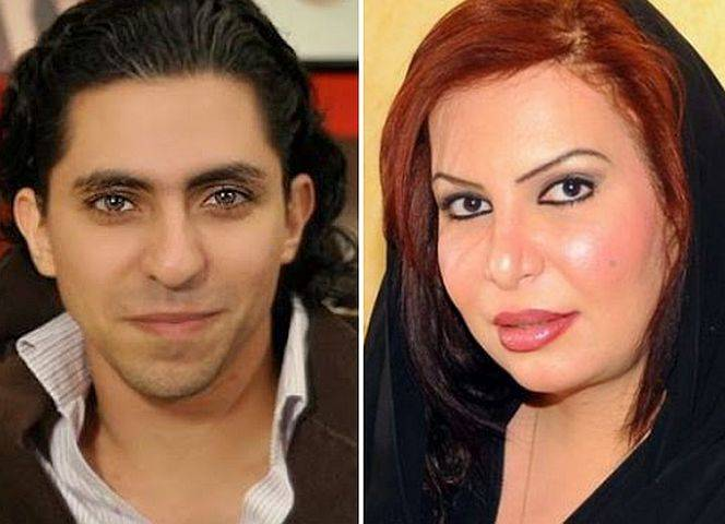 Raif Badawi und Souad Al-Shammary.