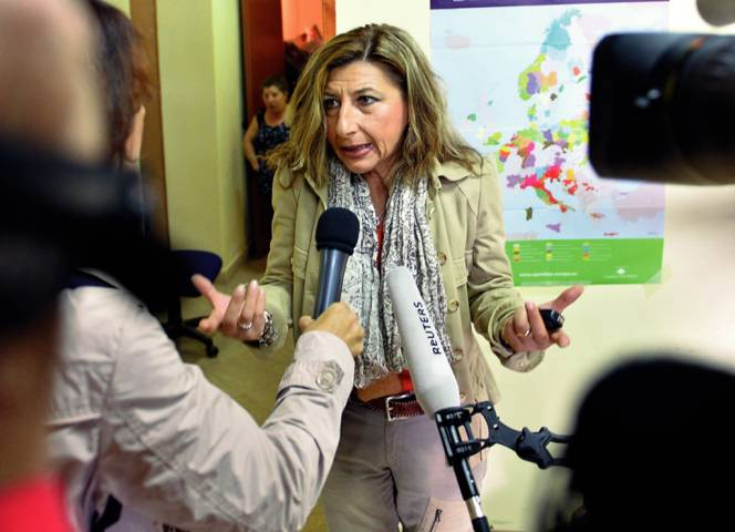 Giusi Nicolini, Bürgermeisterin von Lampedusa. Foto: Tullio M. Puglia/ Getty