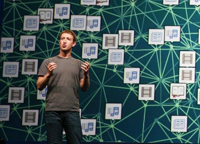 Mark Zuckerberg: Über Facebook nicht zu erreichen.