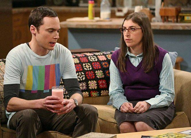 "Sheldon und Amy in ""Big Bang Theory""."
