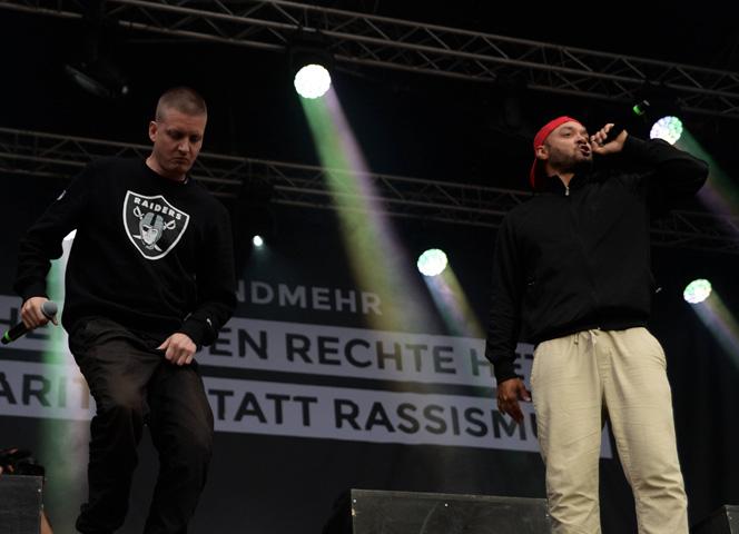 Die Berliner Rapper K.I.Z. sind für ihre unverhüllt frauenfeindlichen Texte bekannt. © imago/News4HH