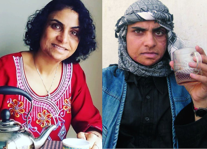 Nadia Ghulam, heute 34 Jahre alt, lebte zehn Jahre lang als Junge in Kabul.