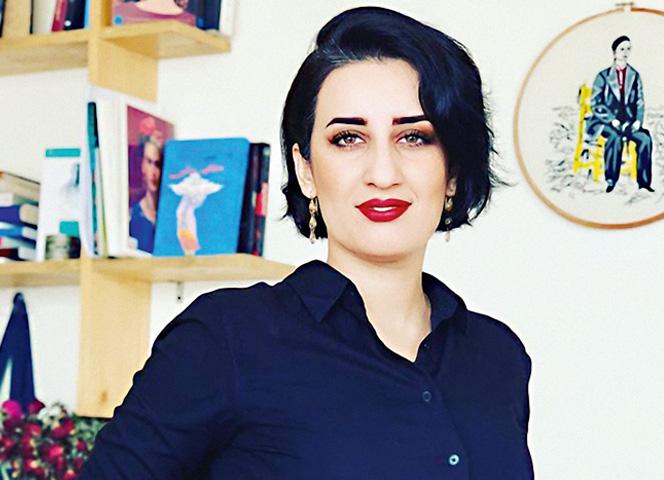 Die afghanische Journalistin Farahnaz Forotan
