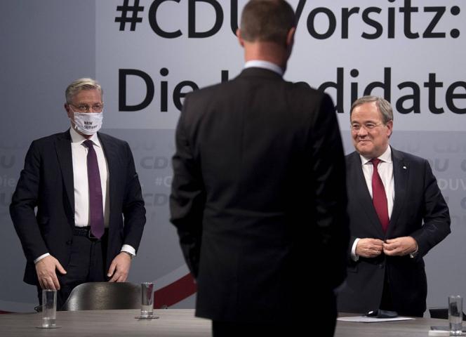 Die drei Kanzlerkandidaten aus NRW: Wie stehen sie zur Prostitution? - Foto: imago images/IPON