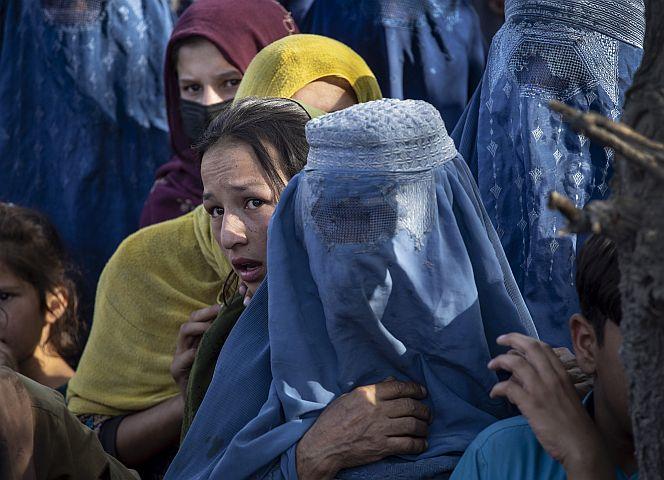 Die Grausamkeiten der Taliban gegen Frauen und Mädchen haben bereits begonnen. - Foto: Paula Bronstein/Getty Images
