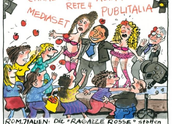 Cartoon von Franziska Becker