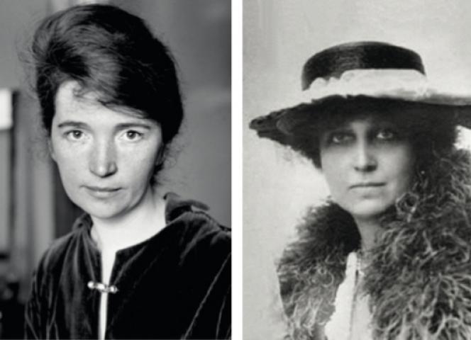 Margaret Sanger (li) und Katharine McCormick, die Mütter der Pille. - Foto: Corbis