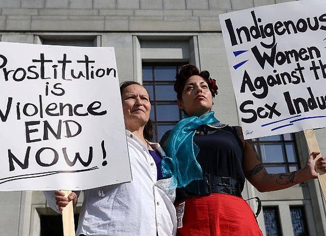"""Auch die """"Native Women's Organisation of Canada"""" meldete sich in der Prostitutionsdebatte zu Wort."""