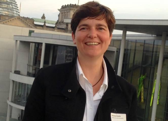 Natascha Kauder, hier bei einem Bundestagsbesuch in Berlin.