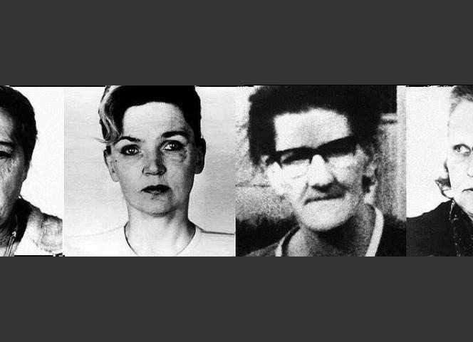 Die Opfer (von links): Frieda Roblick, Gertrud Breuer, Anna Beuschel und Ruth Schult.