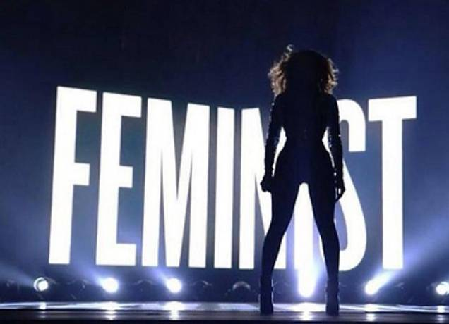 Feminist! Feminist? Beyoncé bei den MTV Video Music Awards.