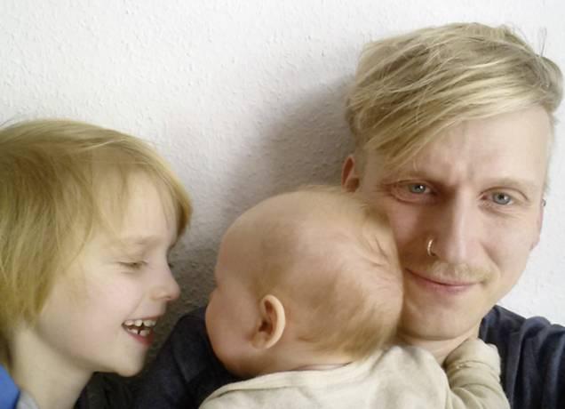 Vater Jochen König: Keine Ausreden. Selbst ist der Mann!