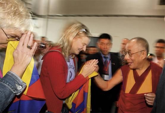 Der Dalai Lama besucht Münster