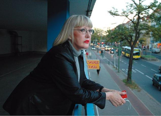 """Domina Ellen Templin: """"Da ist nichts mehr, was uns schützt."""" - Foto: B. Flitner"""