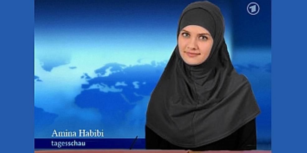 Erste tagesschau sprecherin mit kopftuch emma for Nachrichtensprecher zdf