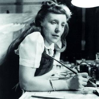 Louise Bourgeois, um das Jahr 1976.