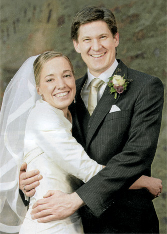 Hochzeitsfoto von Kristina Köhler und Ole Schröder