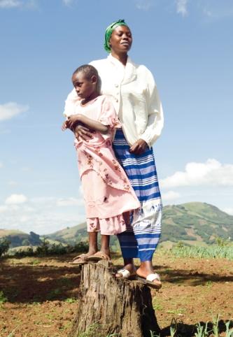 Marie Baseme Kasoki ist Psychologiestudentin. Ihre Tochter Elisa ist die Folge einer Vergewaltigung.