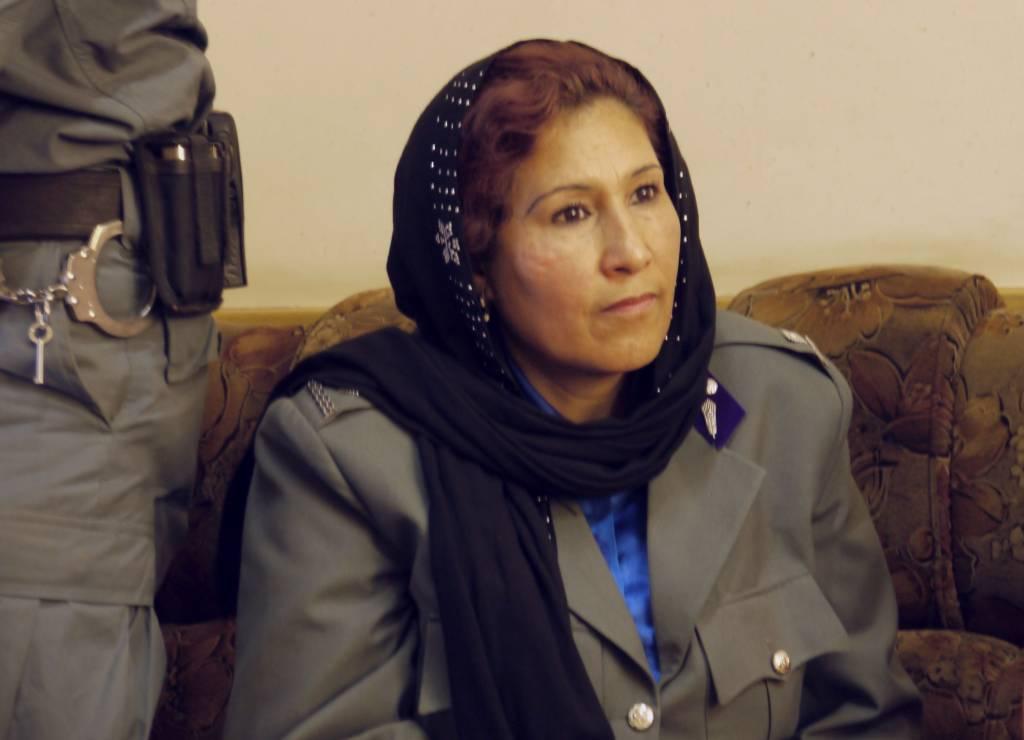 Lailoma Ahmad ist eine von drei Frauen unter 230 Kommissaren. Entsprechend ist ihre Lage.