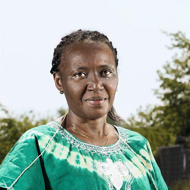 "Die Kenianerin Elizabeth Ngari gründete in Brandenburg ""Women in Exile"". © Anja Weber"