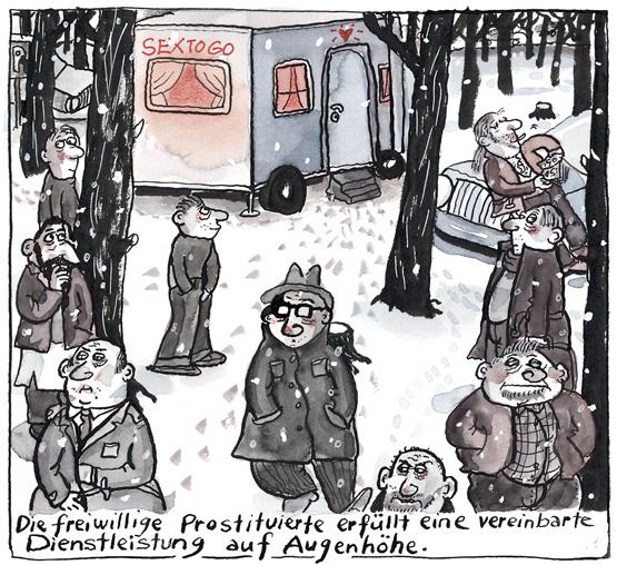 Cartoon: Aus freiem Willen | EMMA